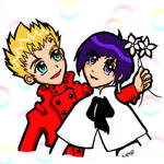 Vash and Meryl - White Day