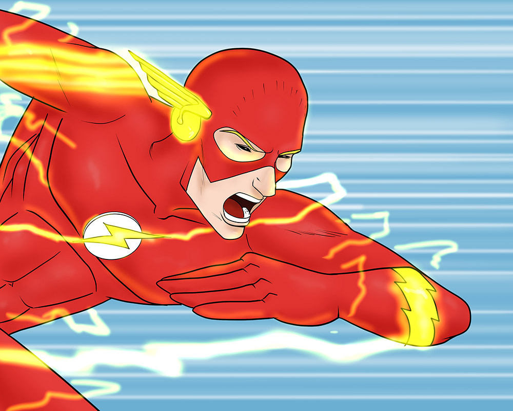 Warm Up of the Day: The Flash by monkeygeek