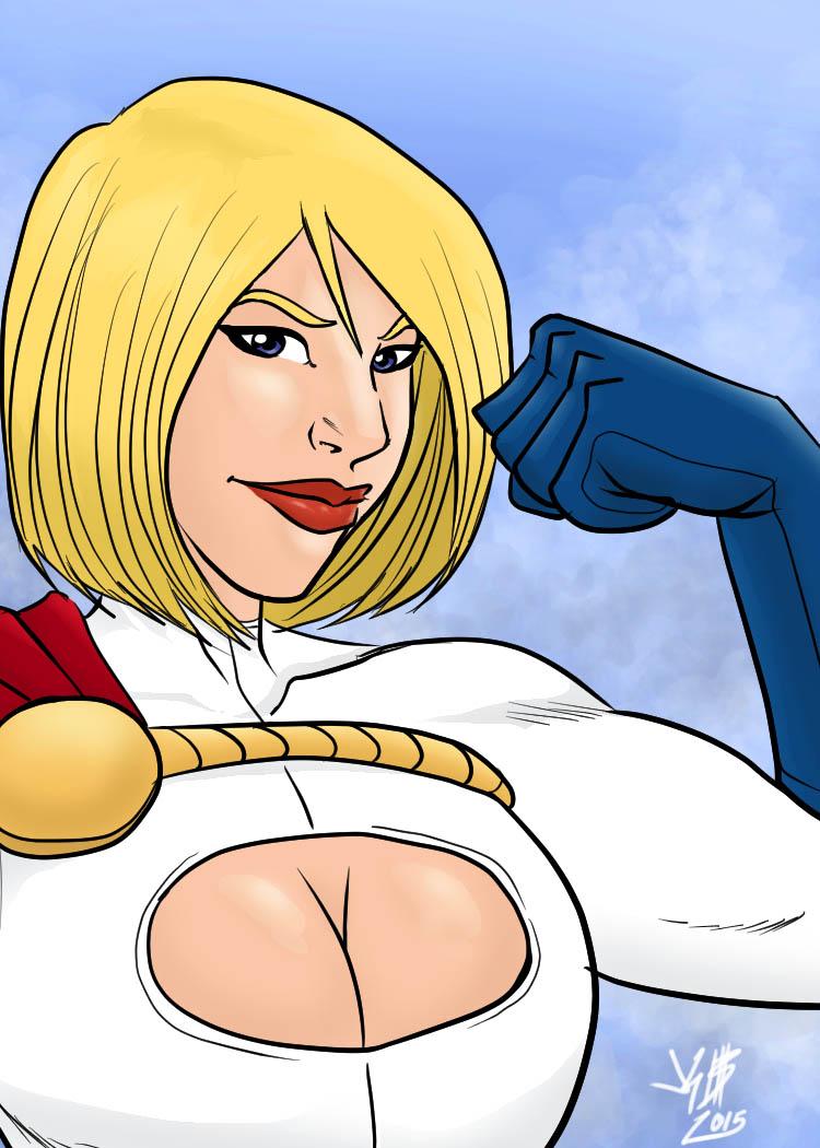Power Girl by monkeygeek