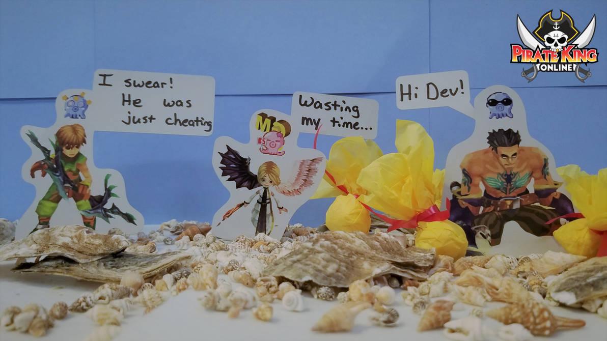 Pirate King Online Paper Children by NimbusPKO