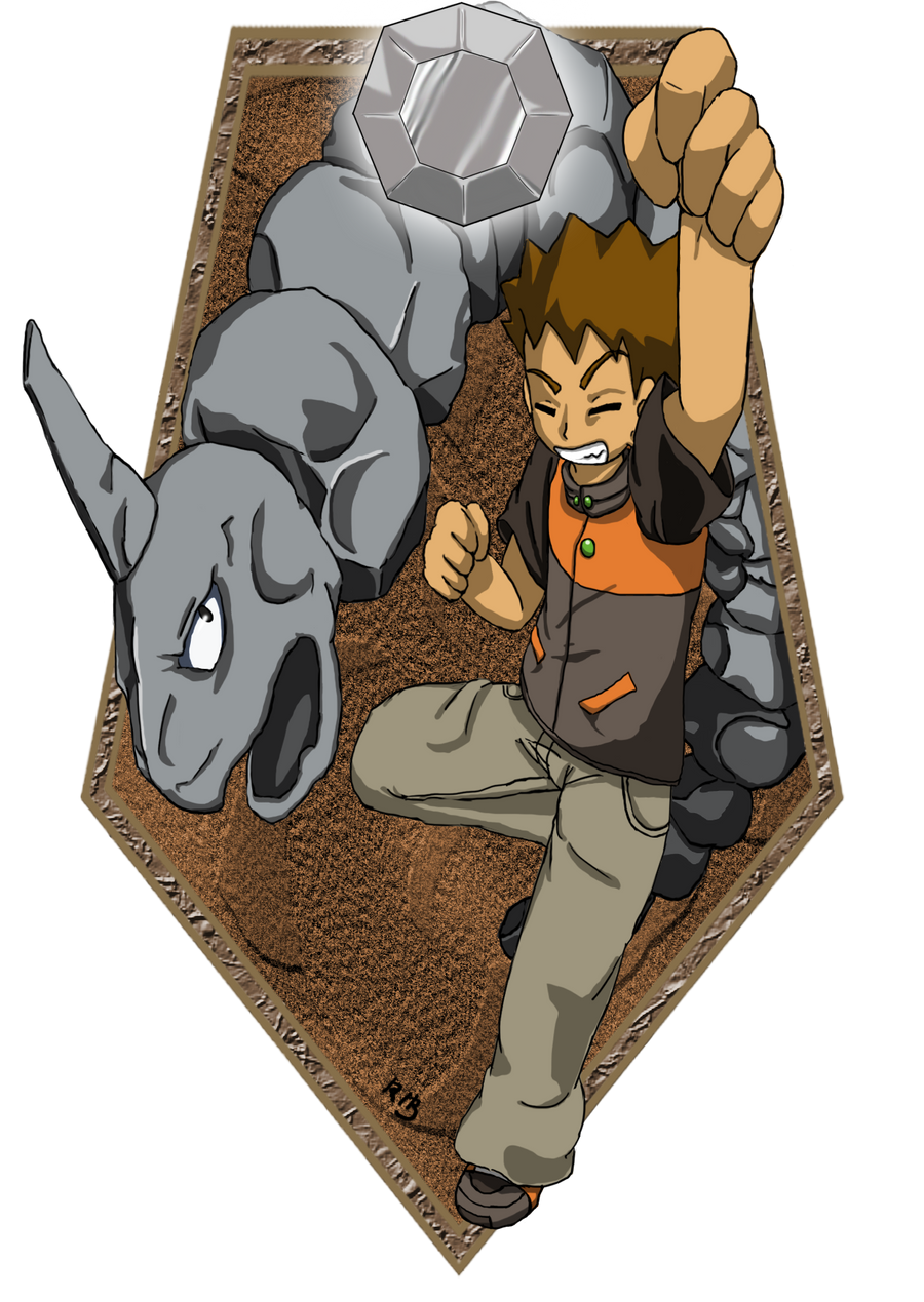 the rock solid pokemon trainer by kokorotoyume on deviantart