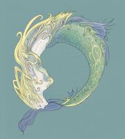Drunk Mermaid by Hatocchi