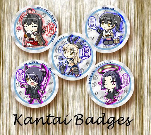 Kantai Badgets set03 by xing0206
