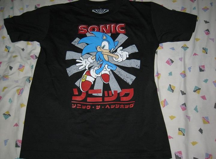 Sonic The Hedgehog T Shirt By Tanlisette On Deviantart