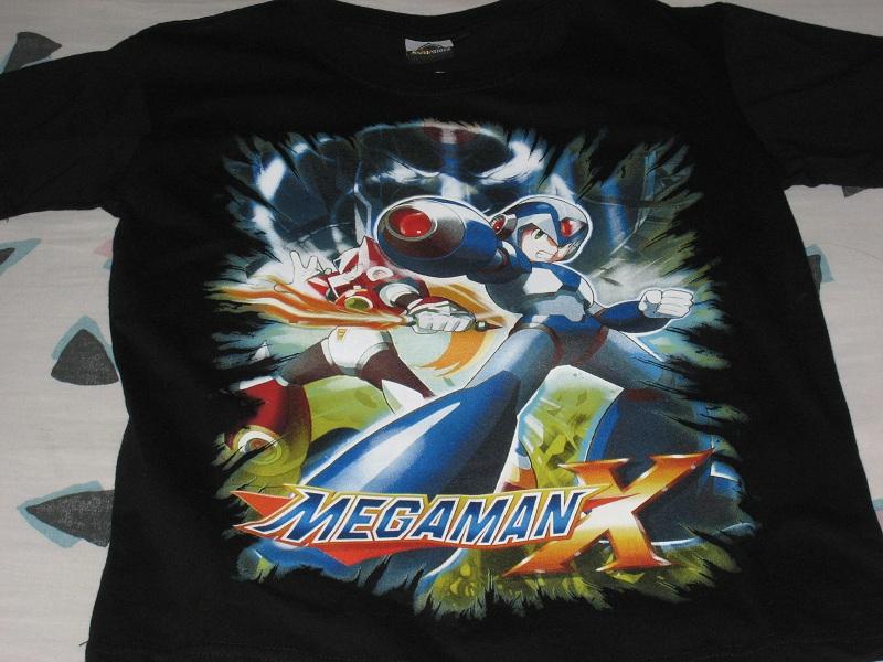 Megaman X T-Shirt by tanlisette