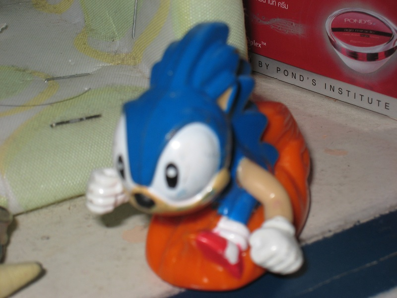 1994 Sonic The Hedgehog 3 Happy Meal Sonic By Tanlisette On