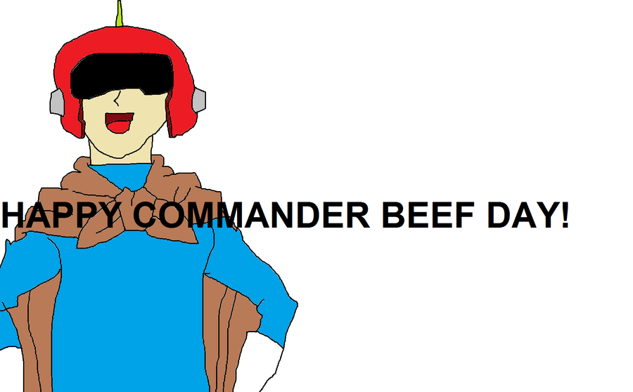 Happy Commander Beef Day! by tanlisette