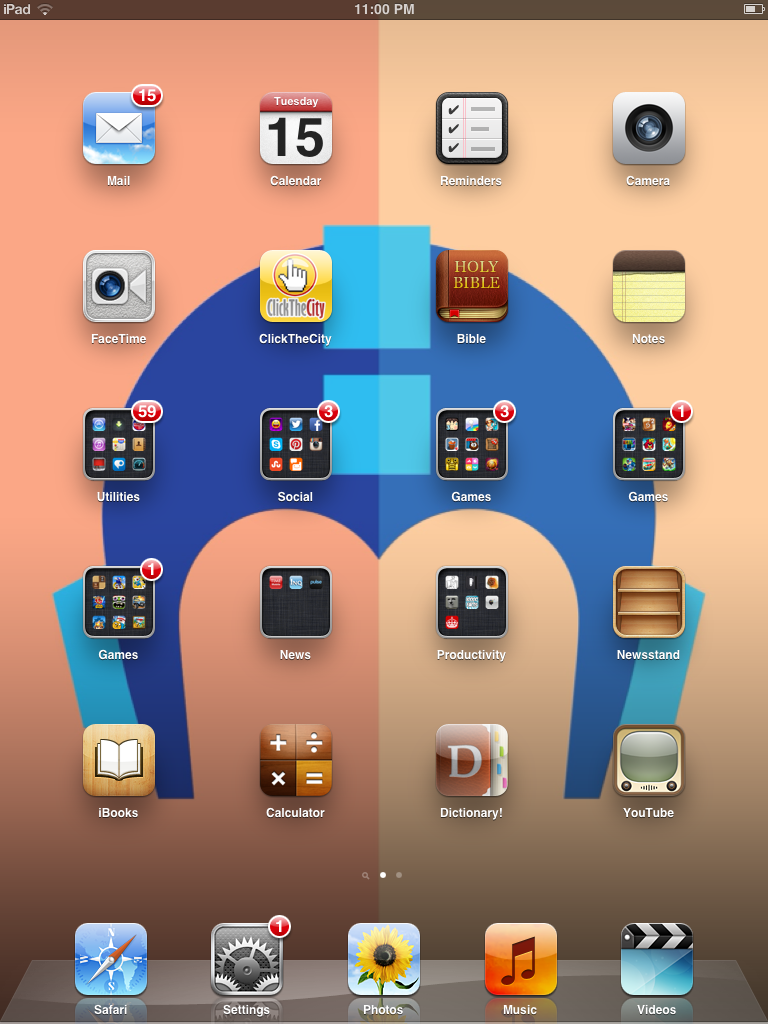 My IPad 2 Megaman Wallpaper By Tanlisette