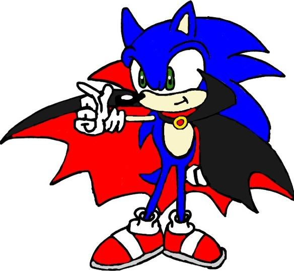 Halloween Sonic by tanlisette