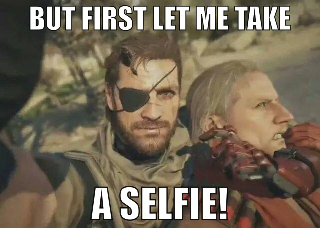 Bigg Boss Funny Meme : Big boss' selfie with ocelot by tanlisette on deviantart