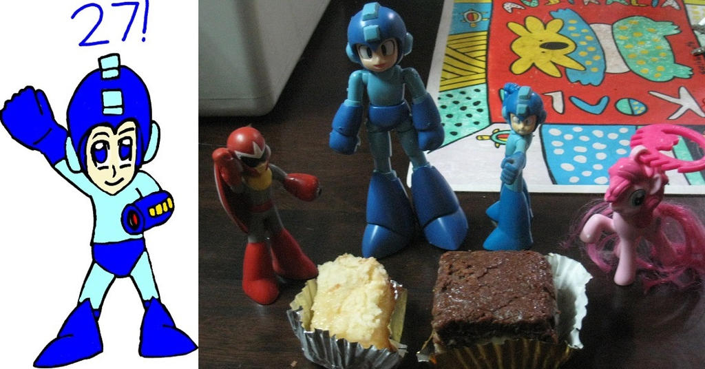 Happy 27th Birthday, Megaman! by tanlisette