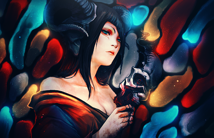 Devil Woman Signature by maagg