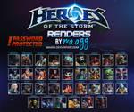 [PACK] Heroes of the Storm - RENDERS