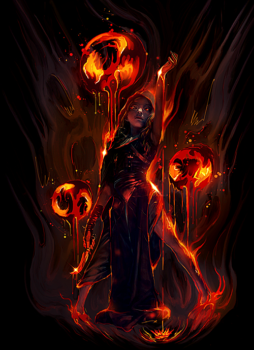 Fire within me by maagg