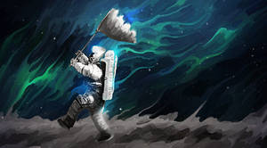 The Man Who Walked on the Moon