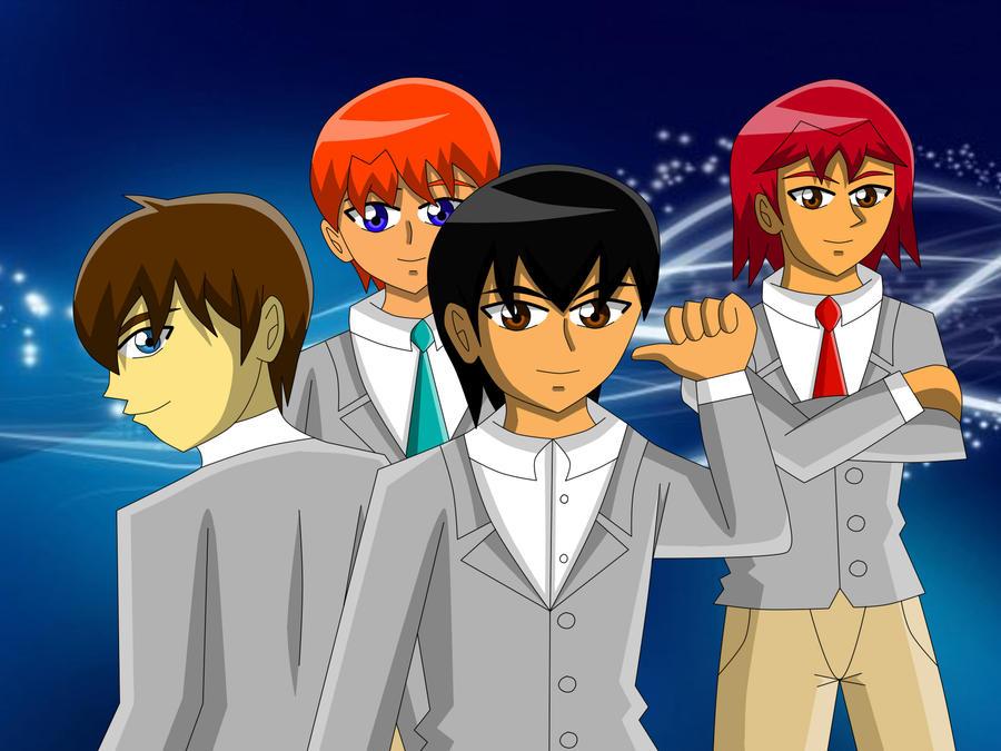 The C.M.A. Academy Boys by RedPhoenix15
