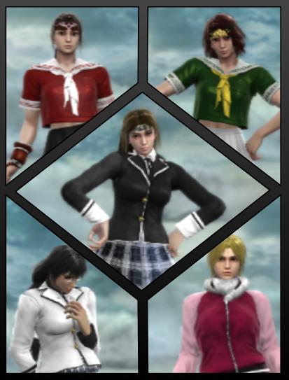 Blazing Dragon School Girls by RedPhoenix15