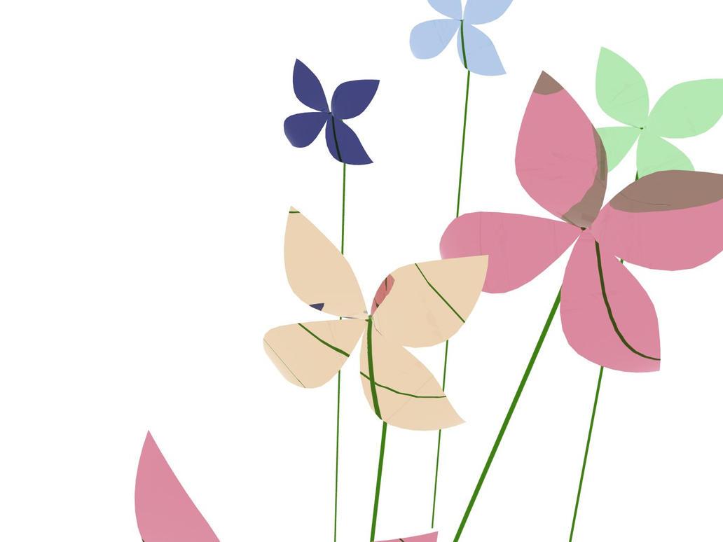 Glass Flower Wallpaper By Capt Toenail