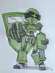 [ TERESA THE MILITARY ROBOT GIRL ] by gamewitt20