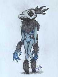 Wendy the Wendigo (trying to make a comeback) by gamewitt20