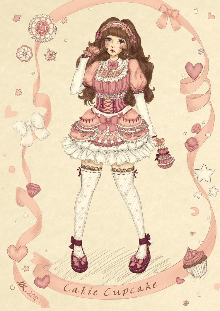 Catie Cupcake by ByJasmine