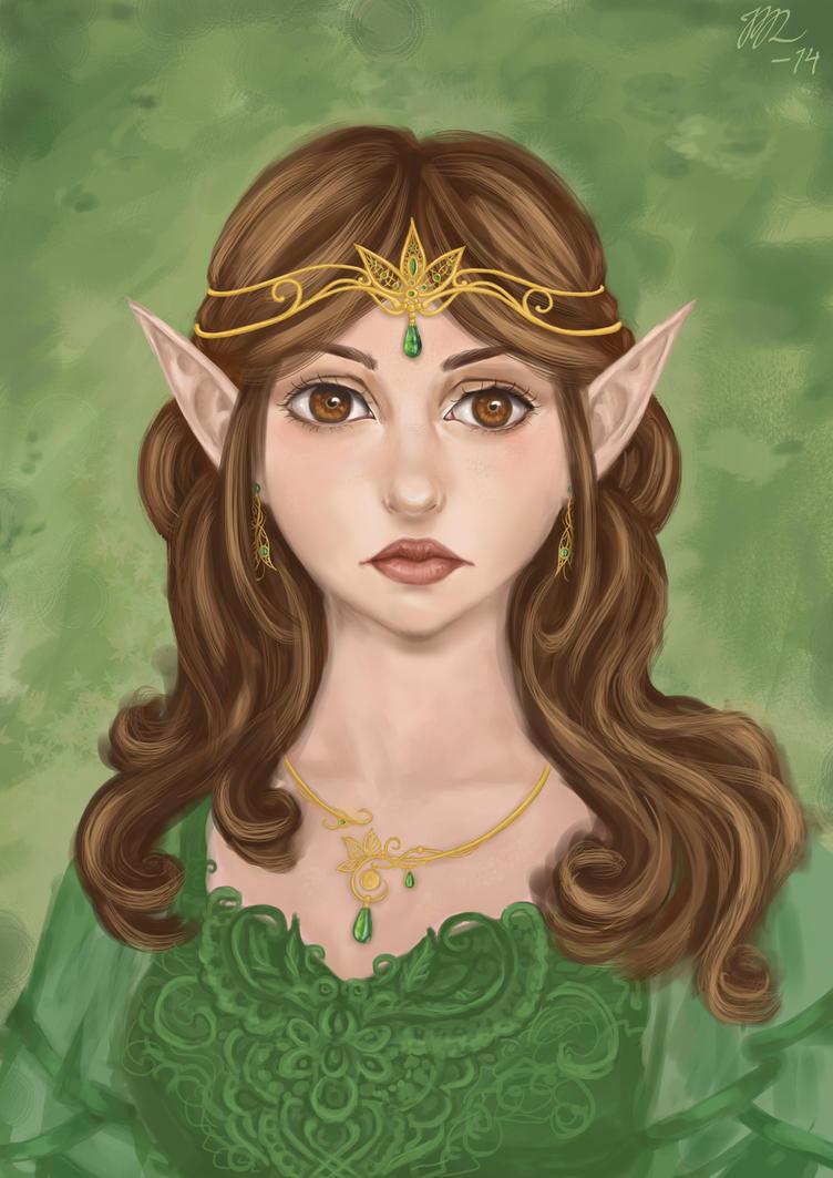 Erenyth portrait by ByJasmine