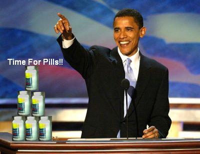 Barack and pills by TheRandomGuy