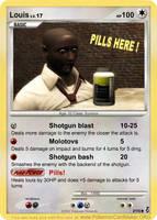 Louis Pokemon card