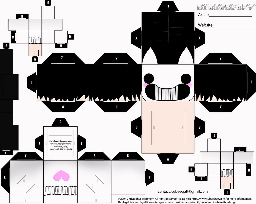 Zacharie -Cubecraft- by alex-la-eriza