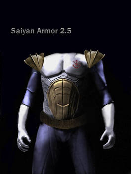 Live Action Vegeta Armor Concept