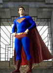 Superman Returns Costume Fan Edit by BIGBMH