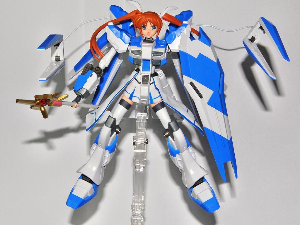 Nanoha Hi-Nu Gundam WIP by JaWzY83