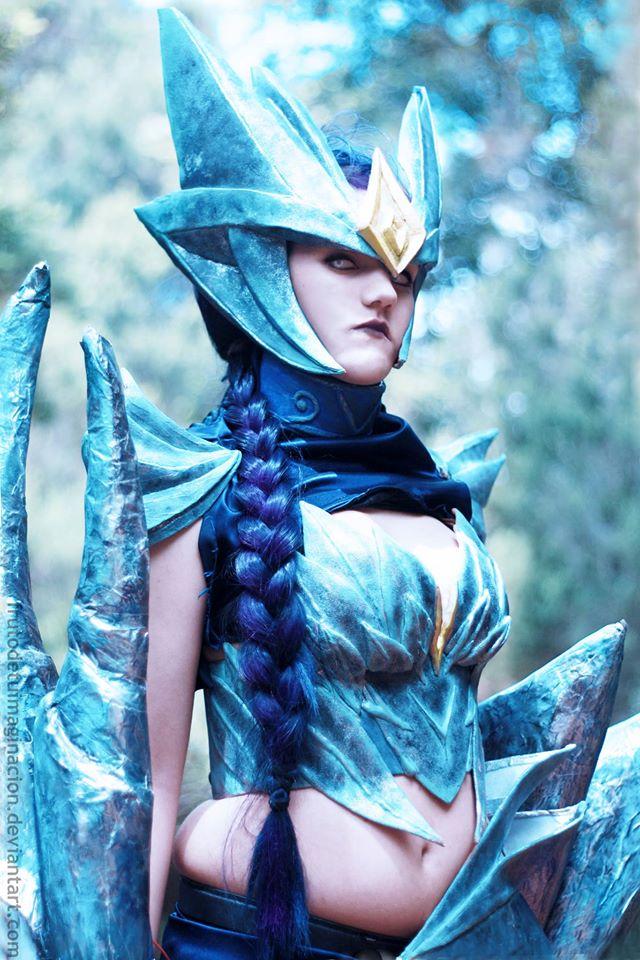 ice drake shyvana cosplay - photo #17