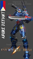 (PACIFIC RIM\BLENDER) Azure Defiant!
