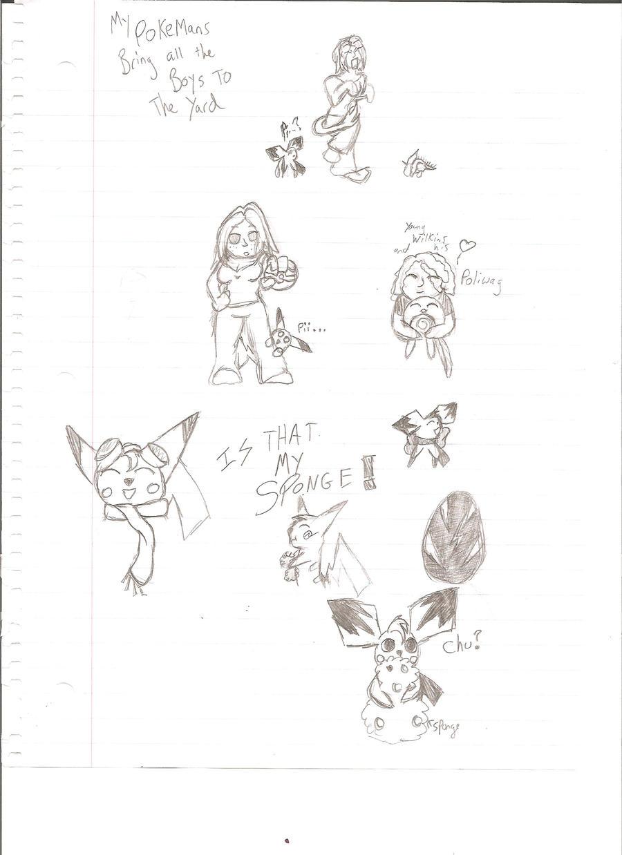 My Pokemons Bringeth Thee by MistressInsanity