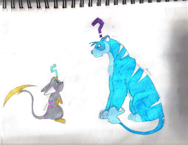 Skitter meets Makani by MistressInsanity