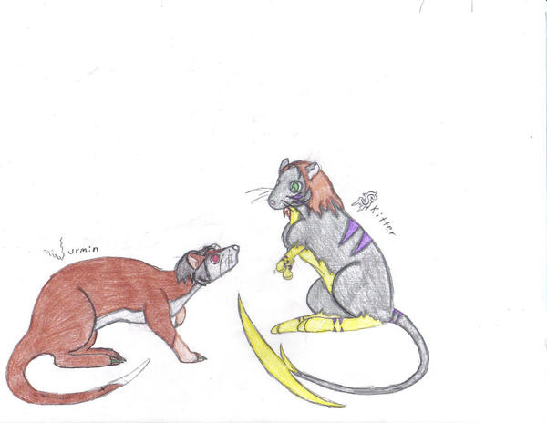 Rodents Be Rodents by MistressInsanity