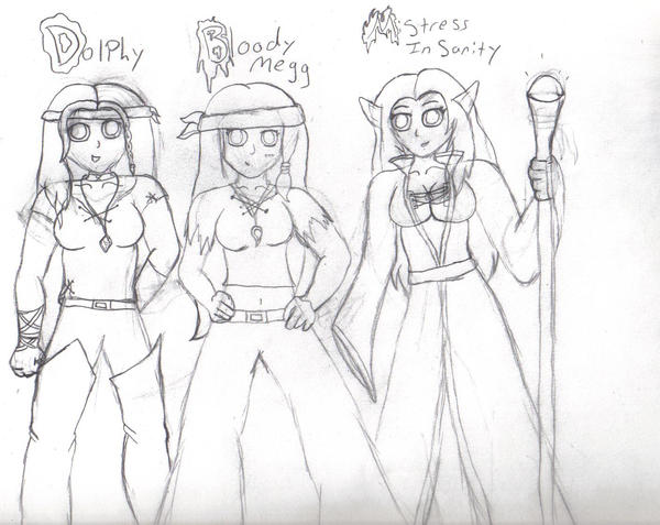 Pirate crew by MistressInsanity