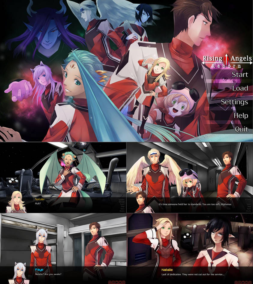 Game: Rising Angels: Reborn by storybeam-vns