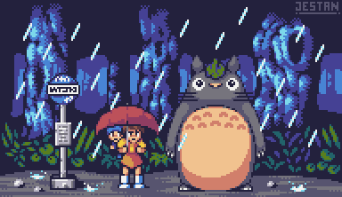 My Neighbour Totoro by JestanDA