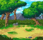 RPG Battleback - Forest