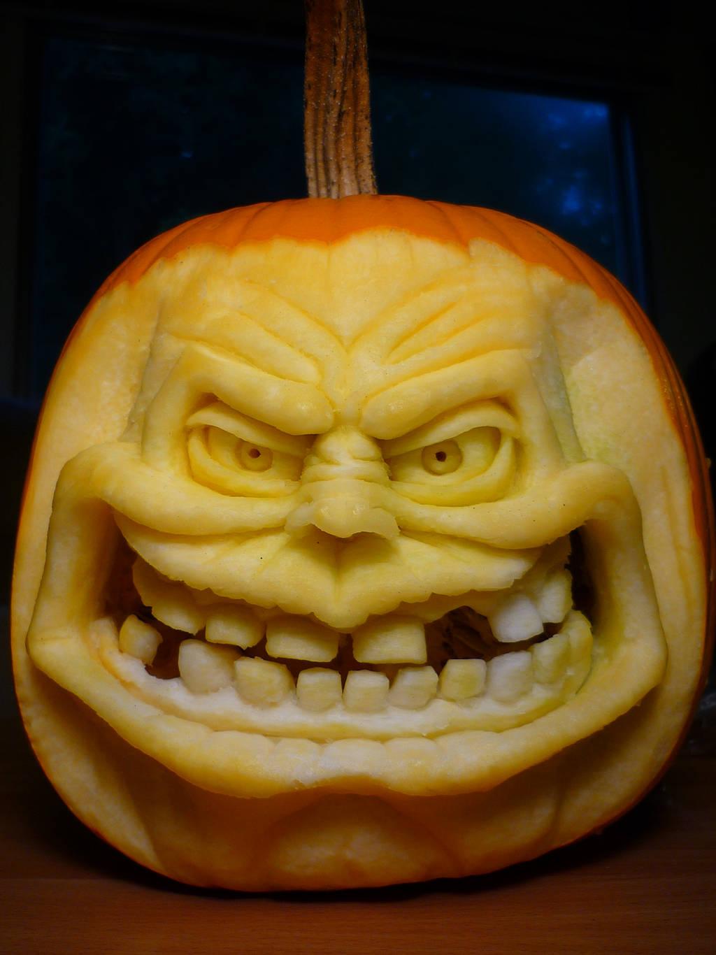 Pumpkin sculptures! by DwayneRushfeldt