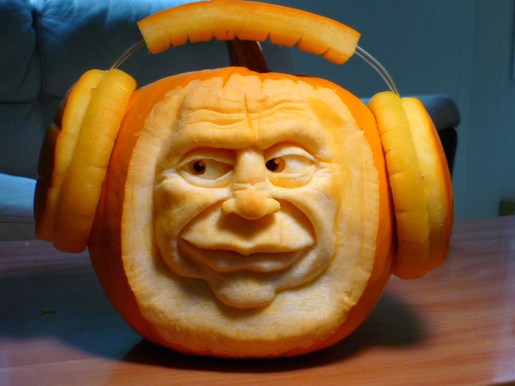 Jammin pumpkins by DwayneRushfeldt
