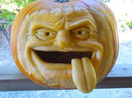 Another pumpkin.. by DwayneRushfeldt