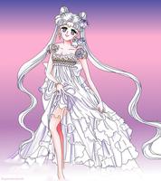Princess Serenity Drawing by SuperShadowX
