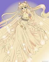 Princess Serenity Drawing 2 by SuperShadowX