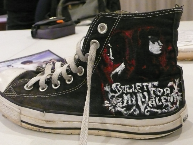 BFMV 'Hand of Blood' Chucks by airwavesxheartbeats
