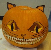 Cheshire Pumpkin by DuffPoi
