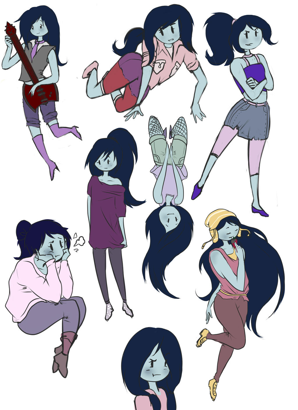 Adventure Time Drawing Style Marceline