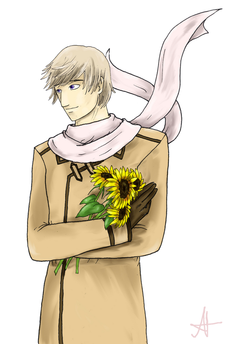 Russia With Sunflowers by Angelia-Dark